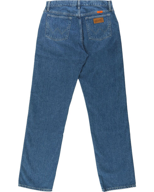 Wrangler® Men's Blue FR Cool Vantage Regular Fit Jeans, Blue, hi-res