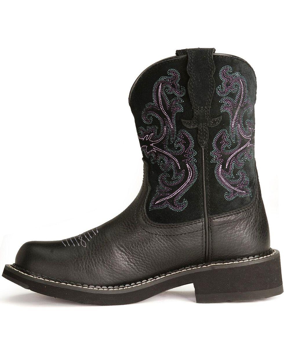 Ariat Women's Fatbaby II Western Boots, Black, hi-res