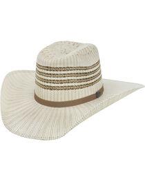 Justin Bent Rail Barrel Straw Cowboy Hat , , hi-res