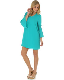 Wrangler Women's Bell Sleeve Dress, , hi-res