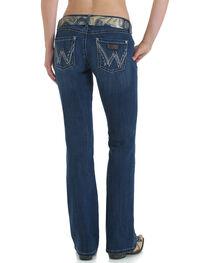 Wrangler Women's Premium Patch Sadie Boot Cut Jeans, , hi-res