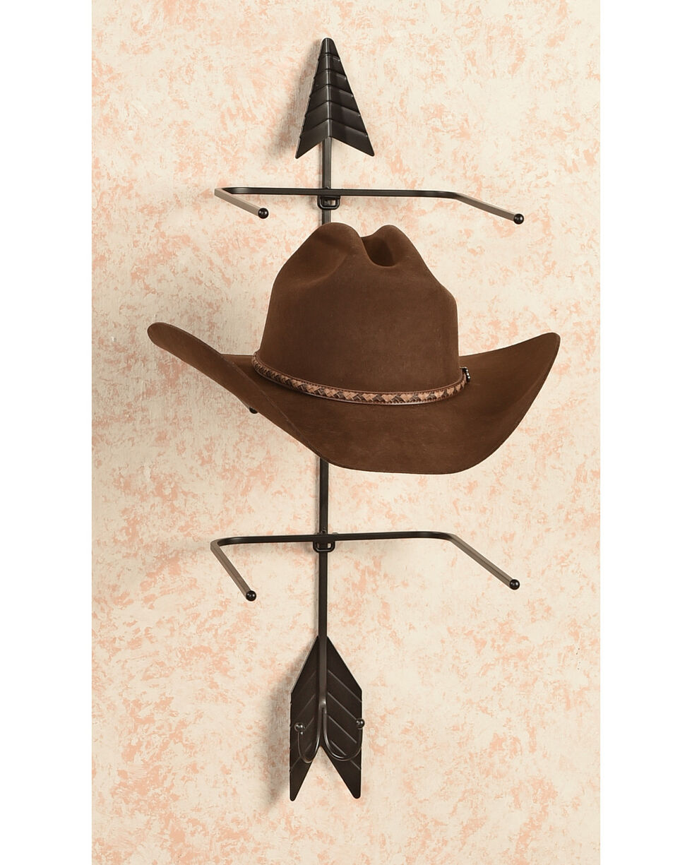 BB Ranch® Iron Arrow Hat Holder, Black, hi-res