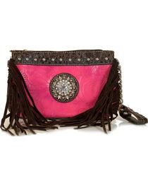 Savana Women's Side Fringe Wristlet Wallet , , hi-res