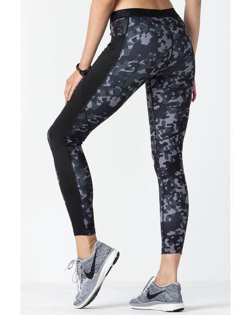 Miss Me Women's Athletic Leggings, Camouflage, hi-res