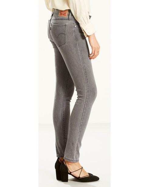 Levi's Women's Smoke and Mirrors 711 Jeans - Skinny , Indigo, hi-res