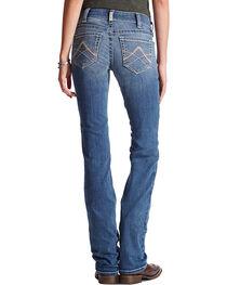 Ariat Women's Real Denim Rainstorm Straight Leg Riding Jeans, , hi-res