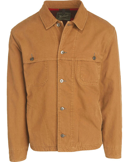 Woolrich Men's Centerpost Wool-Lined Jacket, Coffee, hi-res