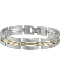 Sabona Men's Imperial Duet Magnetic Bracelet, , hi-res