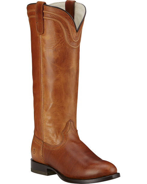 Ariat About Town Women's Tall Boots - Round Toe, Brown, hi-res