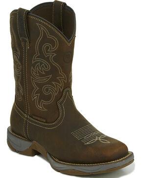 Tony Lama Men's Brown Junction Waterproof Boots - Square Toe , Brown, hi-res