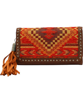 Blazin Roxx Indian Blanket Wallet, Multi, hi-res