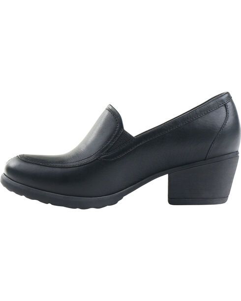 Eastland Women's Tonie Twin Gore Slip On Shoes , Black, hi-res