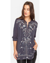 Johnny Was Women's Grey Onyx Samantha Tunic , Grey, hi-res