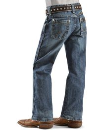 Wrangler Boy's RETRO Straight Leg Western Jeans Size 4-7, , hi-res