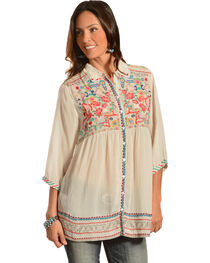 Johnny Was Women's Carpe Tunic, , hi-res
