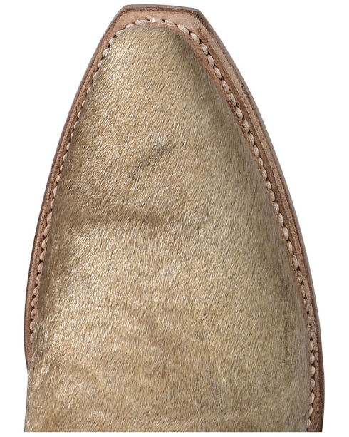 Lucchese Calf Hair Danielle Tall Cowgirl Boots - Pointed Toe , Natural, hi-res