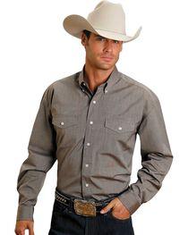 Stetson Solid Button Shirt, , hi-res