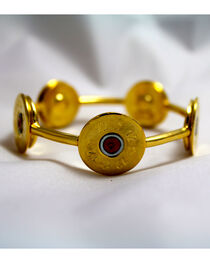 SouthLife Supply Susan Shotshell Bangle Bracelet in Traditional Gold, , hi-res