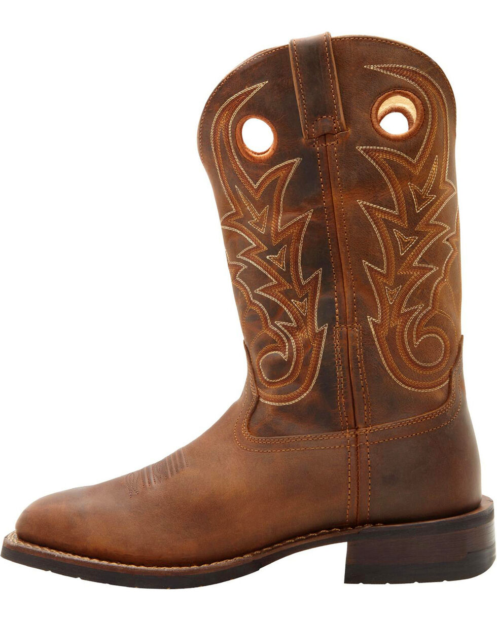 Rocky Men's Handhewn Western Boots, , hi-res