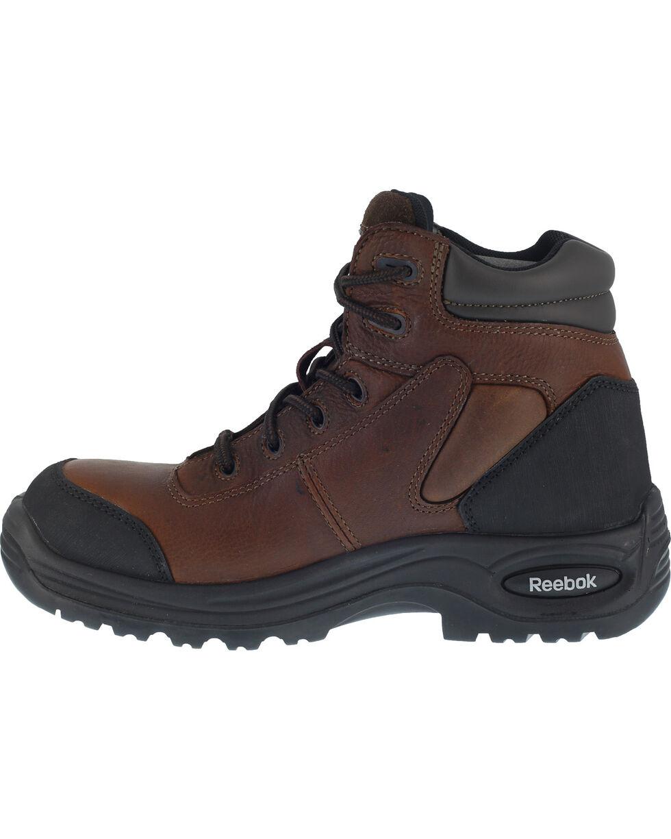 "Reebok Women's 6"" Trainex Boots - Composite Toe, Brown, hi-res"