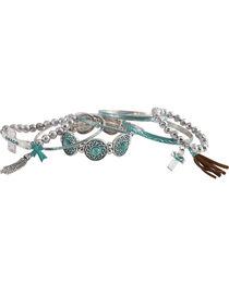 Shyanne Women's Day Dream Multi-Cross Bracelet Set, , hi-res