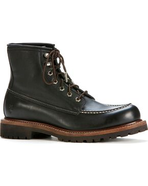 Frye Men's Dakota Mid Lace Boots - Round Toe, Black, hi-res