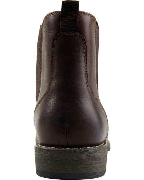 Eastland Men's Dark Brown Daily Double Jodhpur Boots , Dark Brown, hi-res
