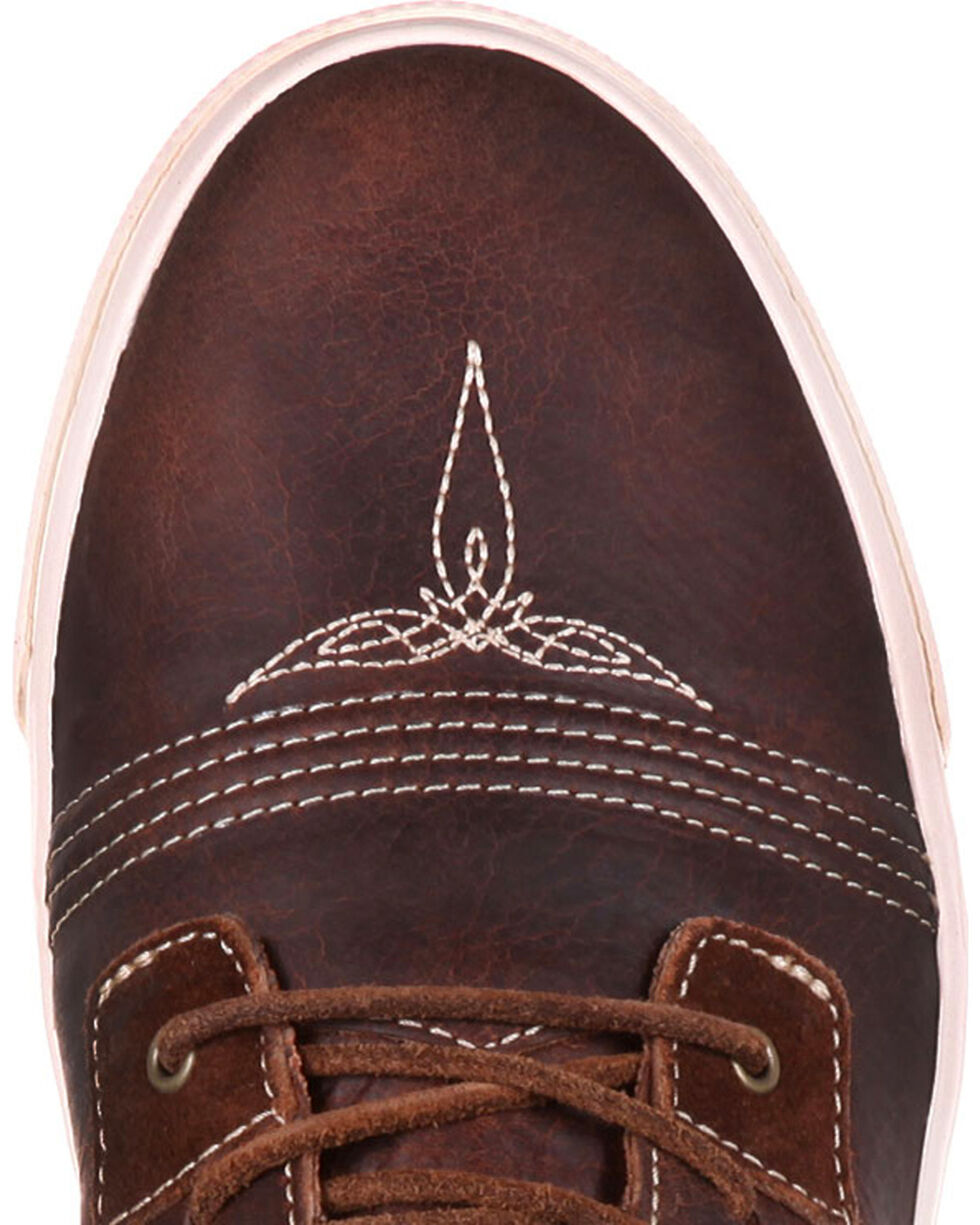 Durango Men's Music City Lace-Up Sneakers, Brown, hi-res