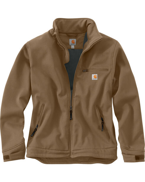 Carhartt Men's Crowley Jacket, Brown, hi-res