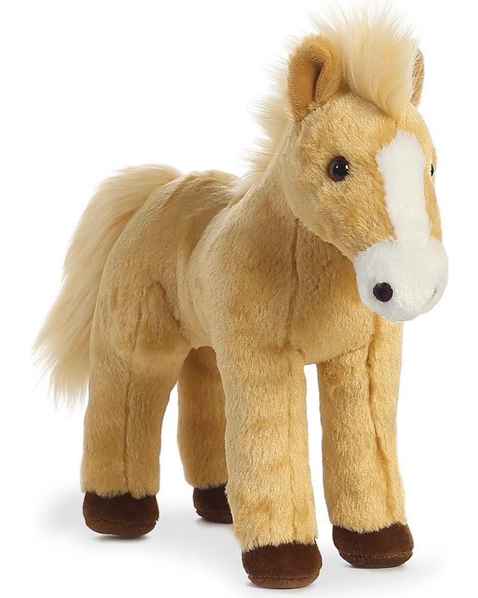 Aurora Cheyenne Plush Pony, Tan, hi-res