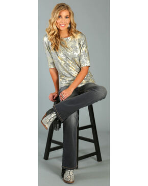 Wrangler Women's Low Rise Boot Cut Jeans, Indigo, hi-res