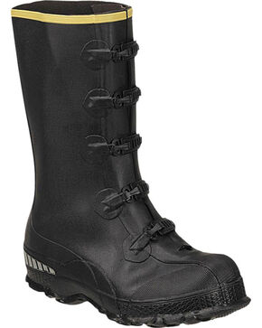 LaCrosse Men's ZXT Buckle Series Overshoe Rubber Boots, Black, hi-res