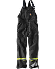 Carhartt Men's Flame Resistant Quilted Lining Overalls - Big & Tall, , hi-res