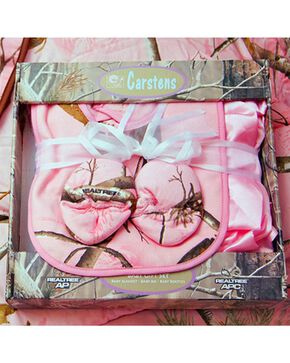 Realtree Pink Boxed Baby Set, Pink, hi-res