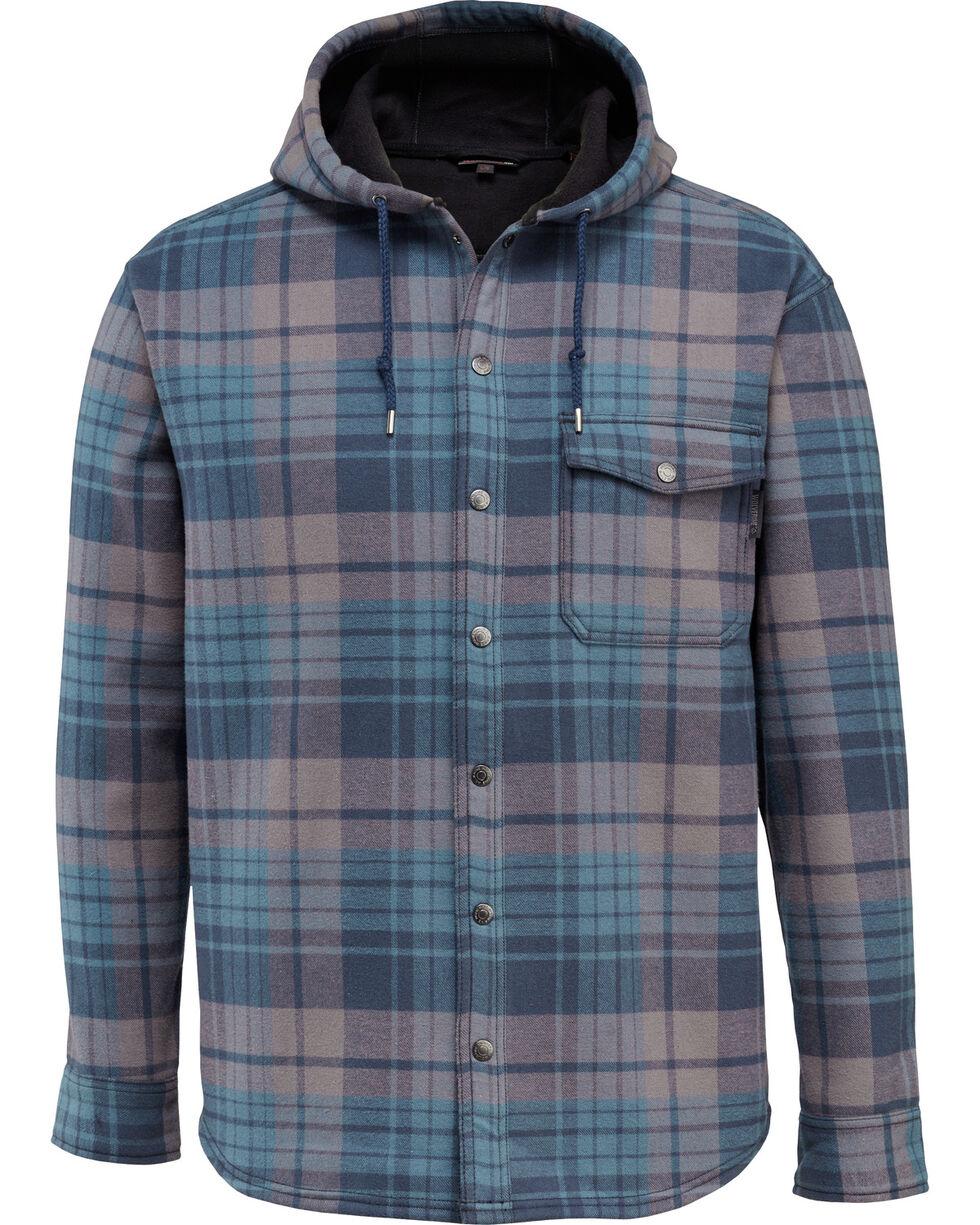 Wolverine Men's Bucksaw Bonded Shirt Jac , Medium Blue, hi-res