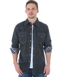 Wrangler 20X Men's Paisley Printed Long Sleeve Shirt, , hi-res