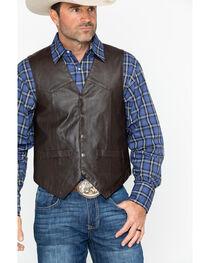 Scully Men's Lamb Leather Vest, , hi-res