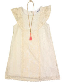 Shyanne Girl's Lace Dress, , hi-res