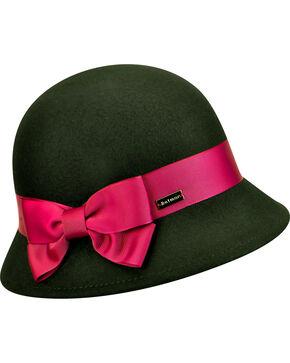 Betmar Women's Emma Cloche Hat , Black, hi-res