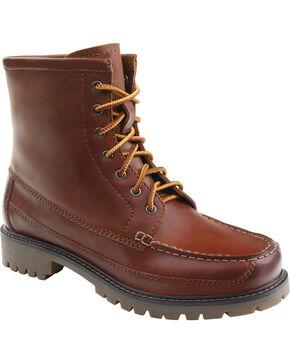 Eastland Women's Pecan Charlotte Moc Toe Boots , Pecan, hi-res
