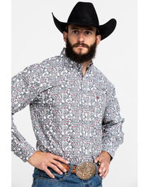 Ariat Men's Tedrick Long Sleeve Shirt, , hi-res