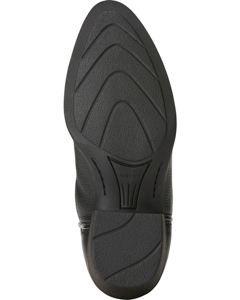 Ariat Boys' Heritage Western Cowboy Boots - Round Toe, Black, hi-res