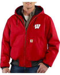 Carhartt University of Wisconsin Badgers Sandstone Active Jacket, , hi-res