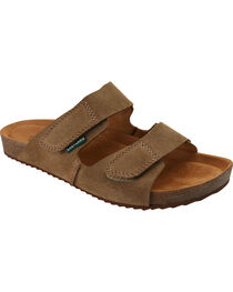 Eastland Men's Tan Caleb Slide Sandals, , hi-res