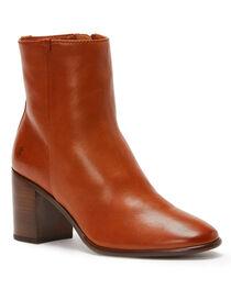 Frye Women's Cognac Julia Booties - Pointed Toe , , hi-res