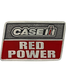 Montana Silversmiths Case IH Red Power Attitude Belt Buckle, , hi-res