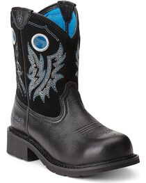 Ariat Women's Fatbaby Cowgirl Steel Toe Western Boots, , hi-res