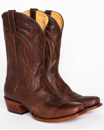 Cody James® Men's Embroidered Broad Square Western Boots, , hi-res