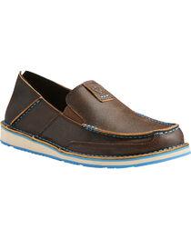 Ariat Men's Cruiser Leather Slip On Shoes - Moc Toe, , hi-res