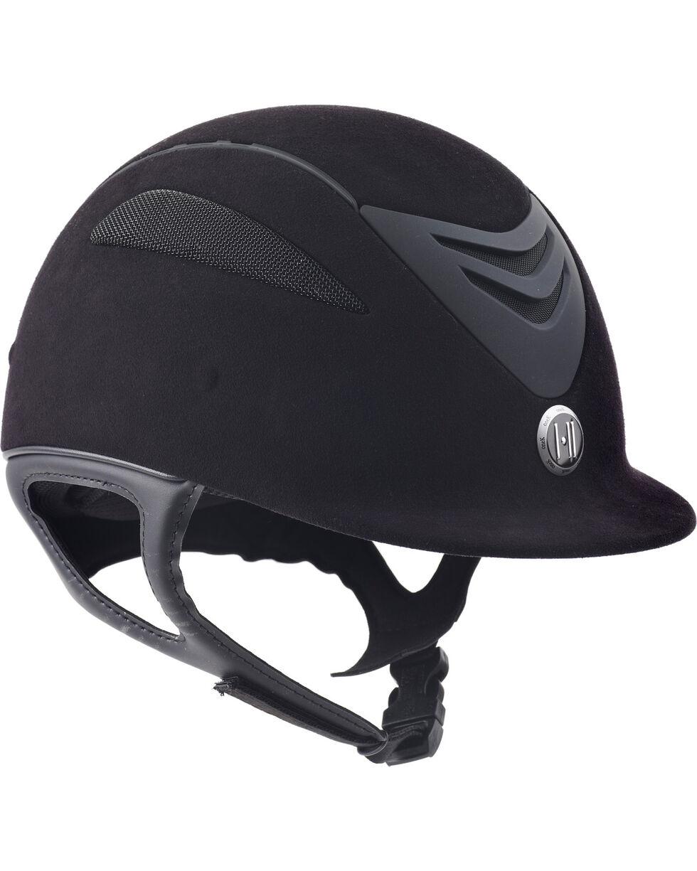 One K Kids' Defender Jr Suede Helmet , Black, hi-res